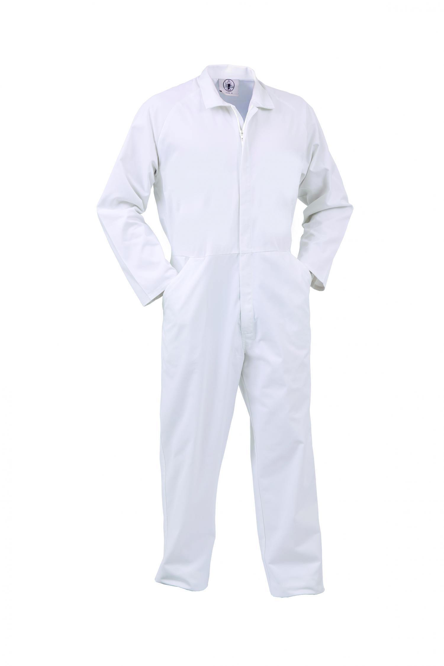 új hiteles forró eladás új kiadás Food Industry Zip Overall - Workwear - Workwear - The Uniform Factory